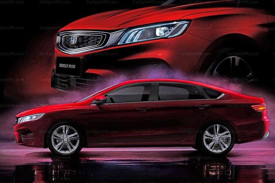 Geely to Launch its First Sports Sedan in Q3 2018 6