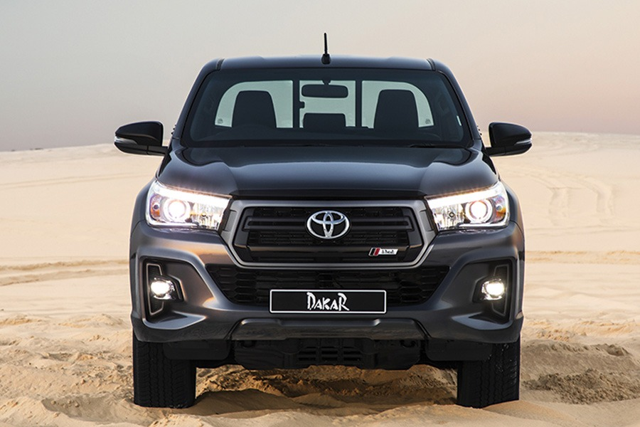 Toyota Introduces the Limited Edition Hilux Dakar in South Africa 7