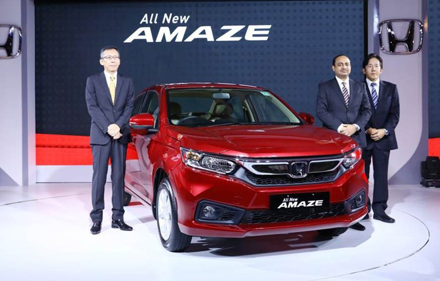 2018 Honda Amaze Launched in India at INR 5.59 lac 3