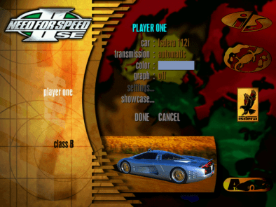 Remembering Need For Speed II-SE and It's Cars 14