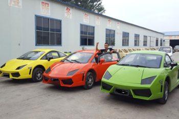 Chinese LSEV that looks like a Bugatti Chiron 9