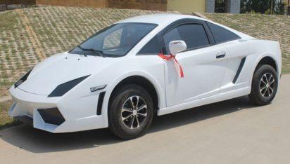 Chinese LSEV that looks like a Bugatti Chiron 10