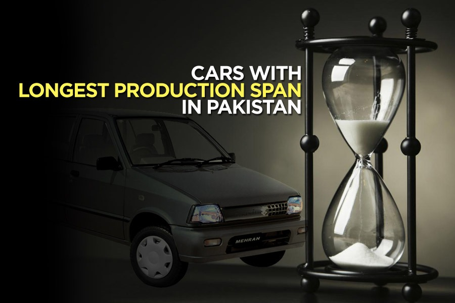 Cars with Longest Production Span in Pakistan 3