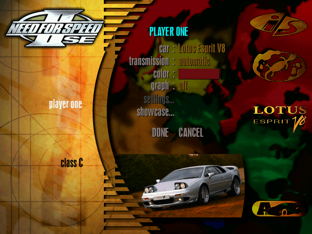 Remembering Need For Speed II-SE and It's Cars 18