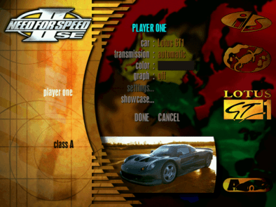 Remembering Need For Speed II-SE and It's Cars 12