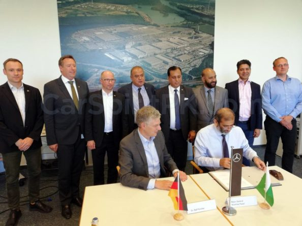 NLC, Daimler AG Sign MoU for Assembly of Mercedes-Benz Trucks in Pakistan 1