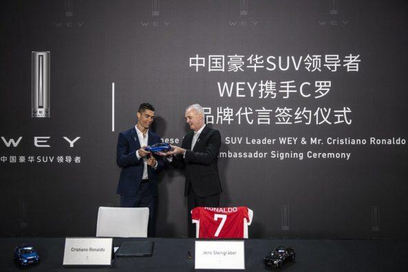 WEY Signs Cristiano Ronaldo as Brand Ambassador 4