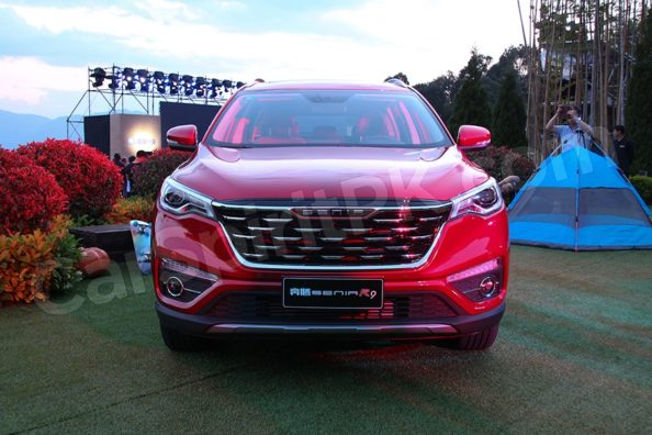 FAW Senia R9 SUV Launched in China 3