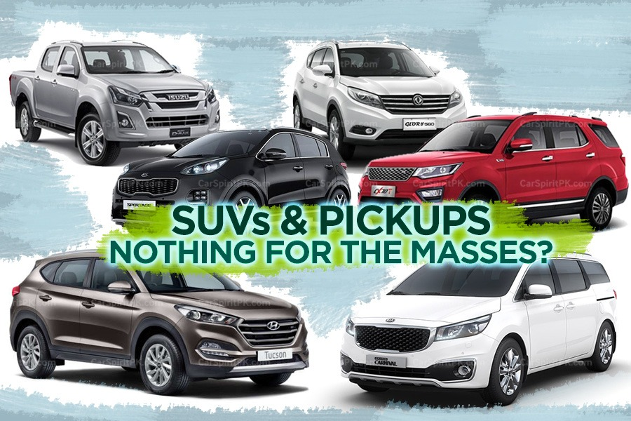 SUVs and Pickups- No Budget Sedans or Hatchbacks 5