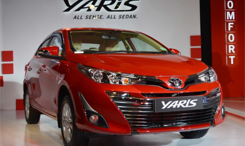 2018 Toyota Yaris Launched in India Priced from INR 8.7 lac 1