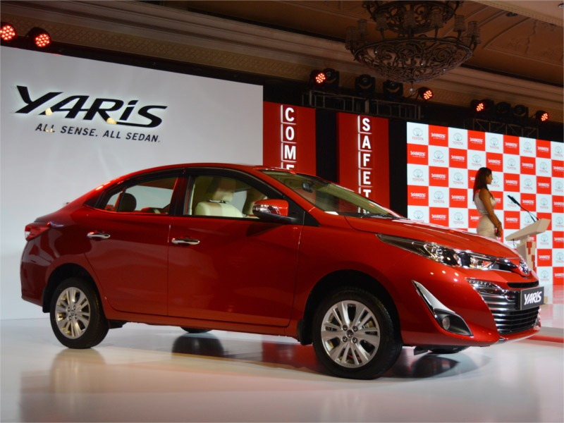 Toyota Yaris to be Replaced by Ciaz in India 1
