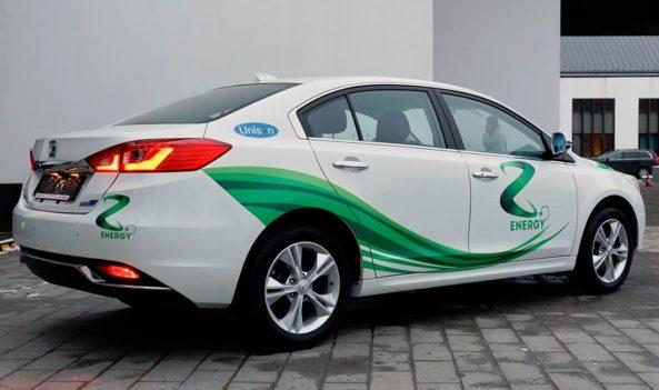 Zotye to Challenge Tesla Model 3 with the Z500EV 2