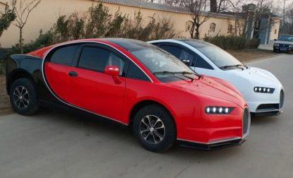 Chinese LSEV that looks like a Bugatti Chiron 2
