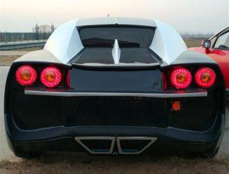 Chinese LSEV that looks like a Bugatti Chiron 4