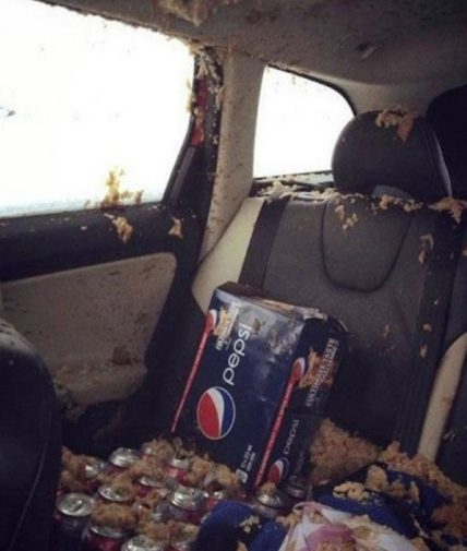 Pressurized Containers in Cars May Explode Due to Extreme Heat 4