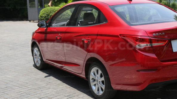 Changan Alsvin Sedan Spotted Testing in Pakistan 9
