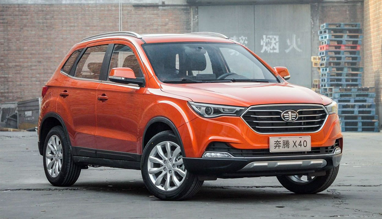 FAW X40 Facelift to be Called as Bestune T33 9