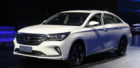 GAC Launches the Trumpchi GA4 in China 2