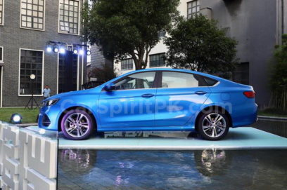 Geely Unveils the All-new BinRui Sedan in China 14