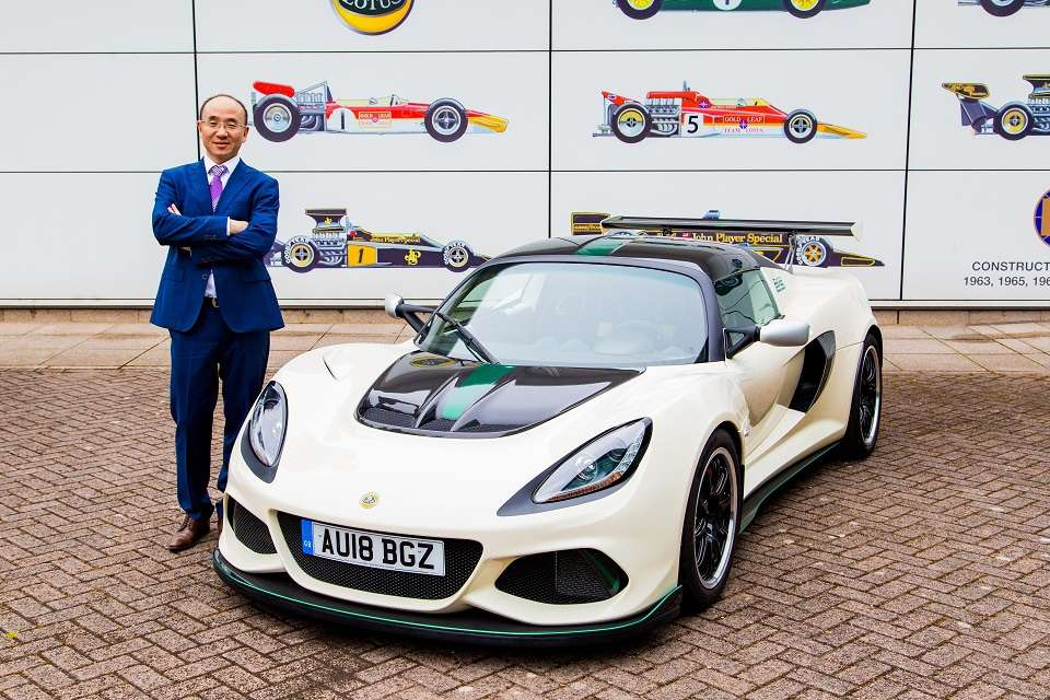 Geely-owned Lotus will be led by Chinese CEO 7