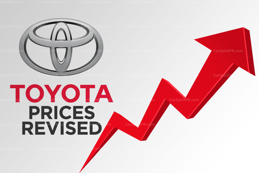 Indus Motors Revised Prices of Toyota Cars for the Third Time in 6 Months 8