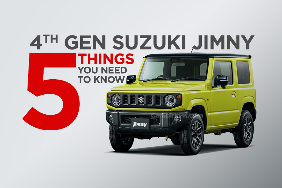 5 Things to Know About the All-New Suzuki Jimny 1