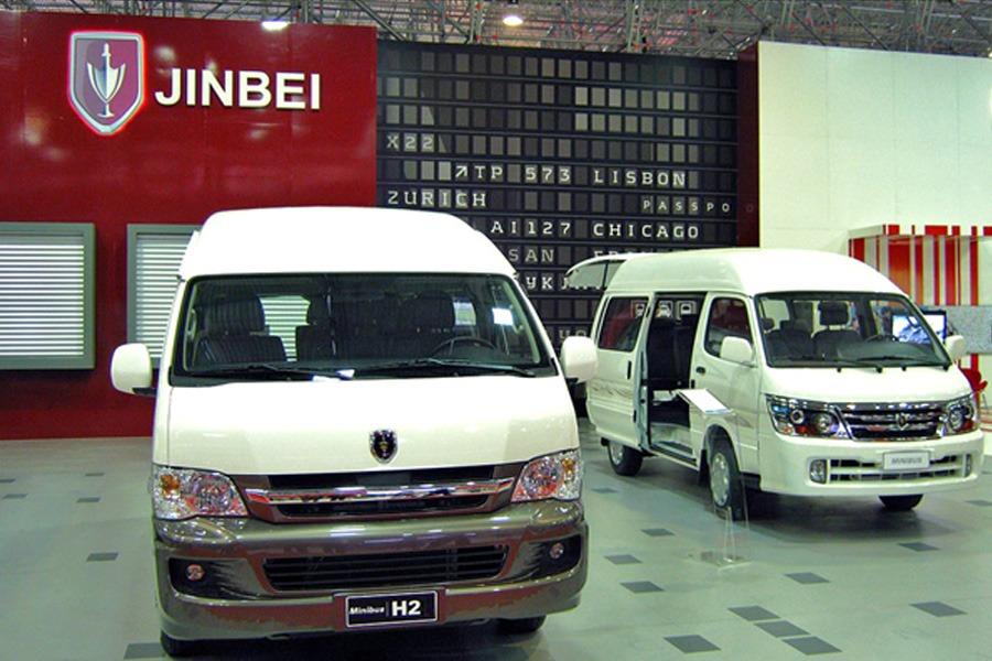 Jinbei Launches Range of Vans and Minivans in Pakistan 3