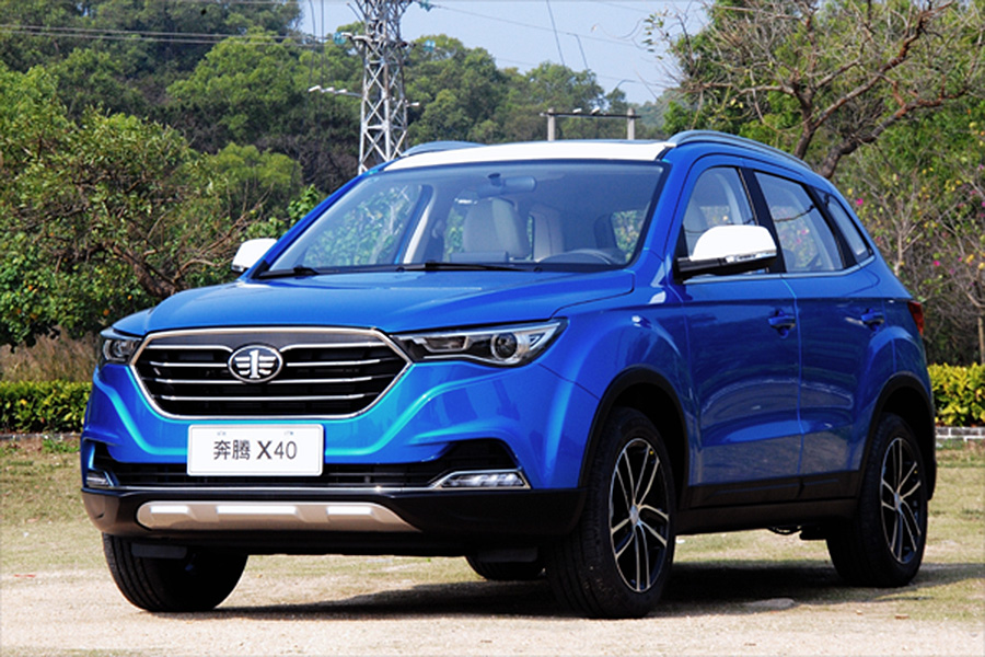 FAW X40 SUV Surpasses FAW R7 Sales in China 3
