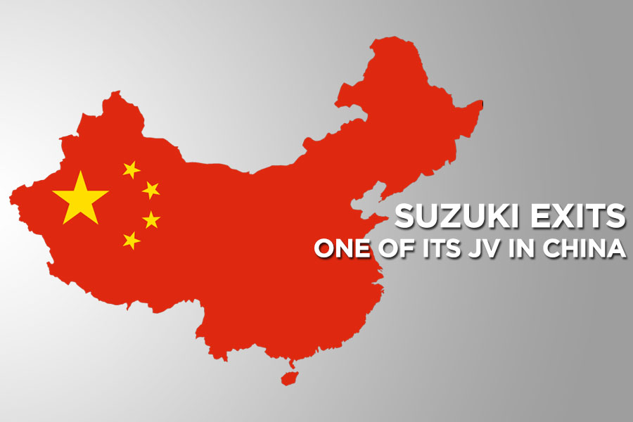Suzuki Exits One of its Joint Venture in China 8