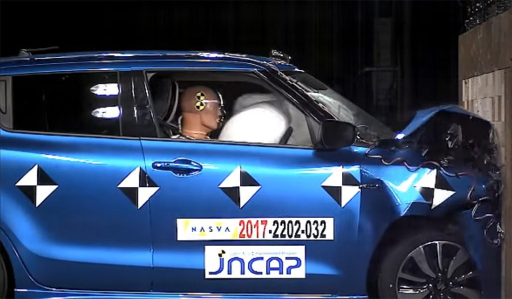 Suzuki Swift Gets 5-star Safety Rating from JNCAP 5