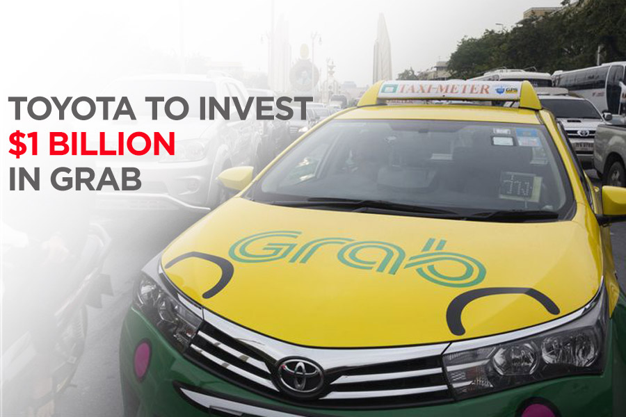 Toyota to Invest $1 Billion in Grab Ride Hailing 2