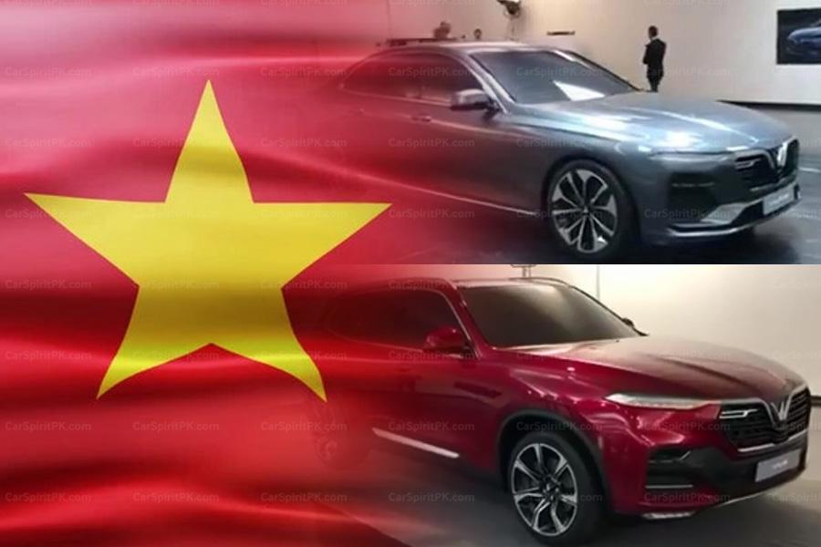Production Models of VinFast- Vietnam's First Cars Revealed 1