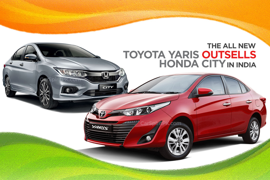 Toyota Yaris Outsells Honda City in India 9