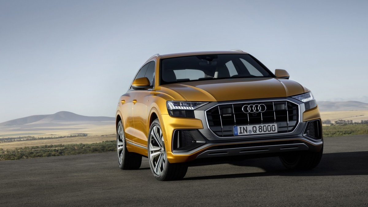 All New 2018 Audi Q8 SUV Unveiled 7
