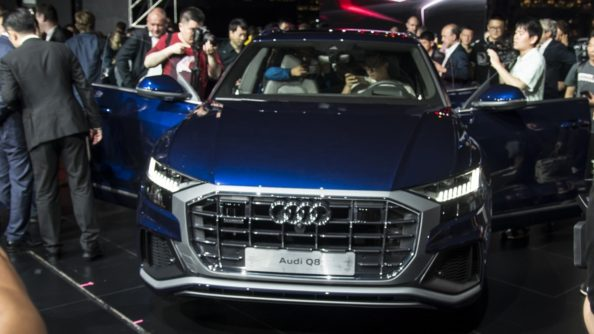 All New 2018 Audi Q8 SUV Unveiled 12