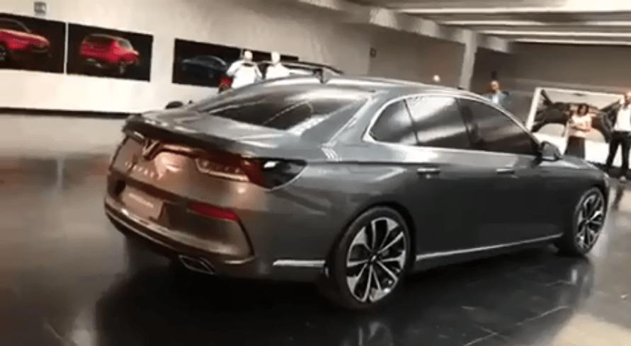 Production Models of VinFast- Vietnam's First Cars Revealed 4