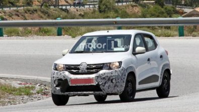 Renault Kwid Facelift Spotted Testing 1