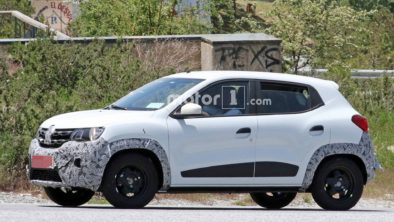 Renault Kwid Facelift Spotted Testing 3