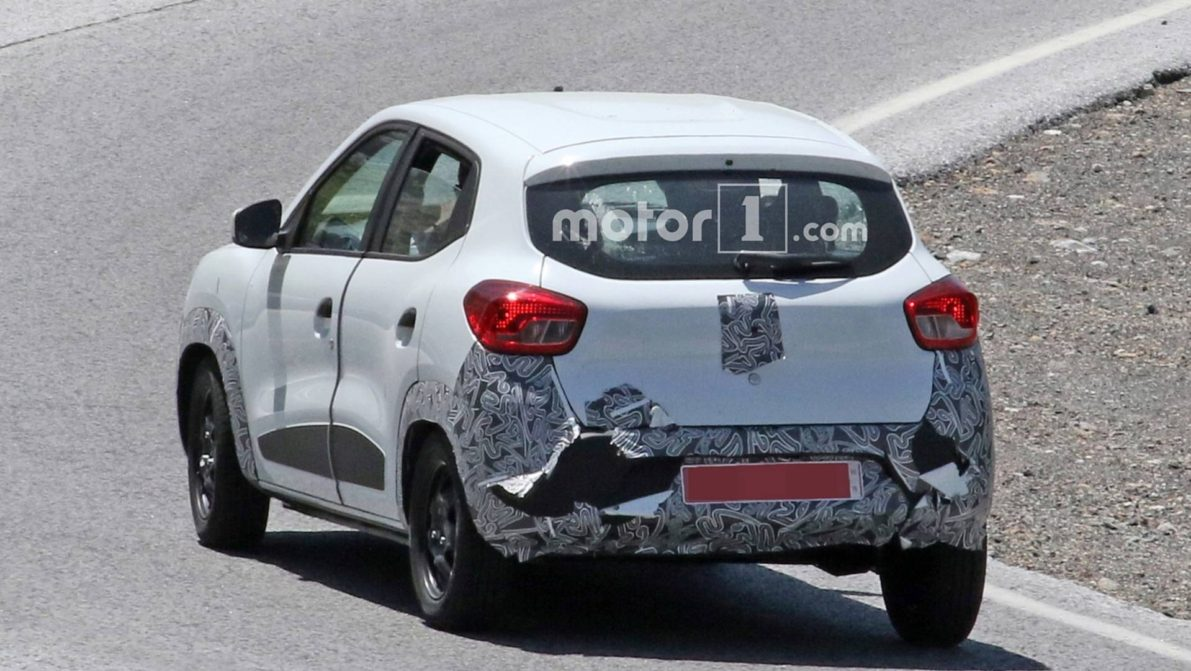 Renault Kwid Facelift Spotted Testing 6
