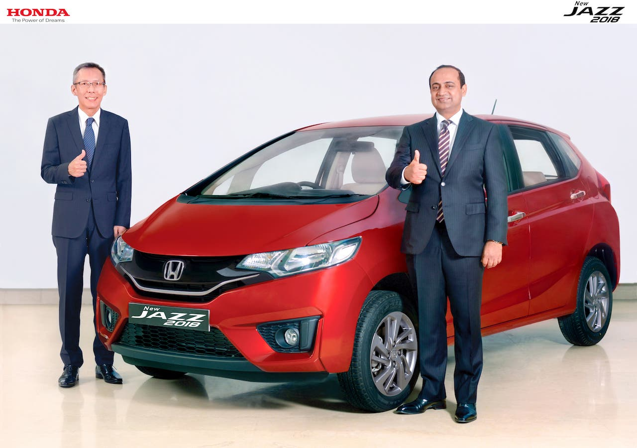 2018 Honda Jazz Facelift Launched in India 1