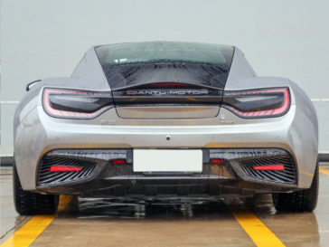 Qiantu K50 Electric Supercar from China to Launch in August 15