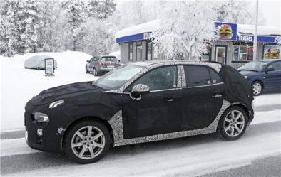 Spy Shots: Lynk & Co 04 Hatchback 4