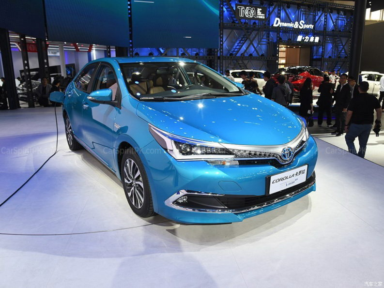 Toyota to Introduce Corolla plug-in Hybrid and 10 new EVs in China by 2020 12