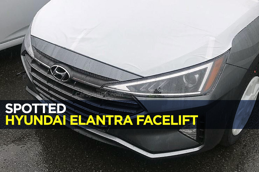 Spotted: Hyundai Elantra Facelift 9