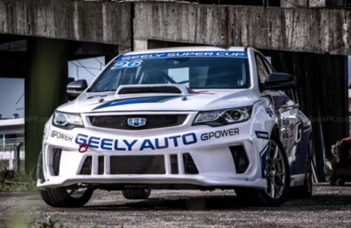 Geely Shows the Emgrand GL Race Car for the Super Cup 13