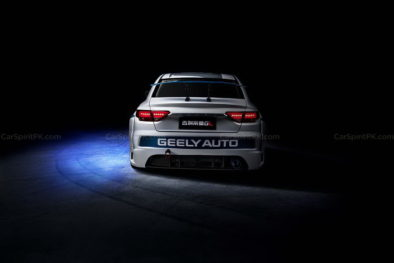 Geely Shows the Emgrand GL Race Car for the Super Cup 8