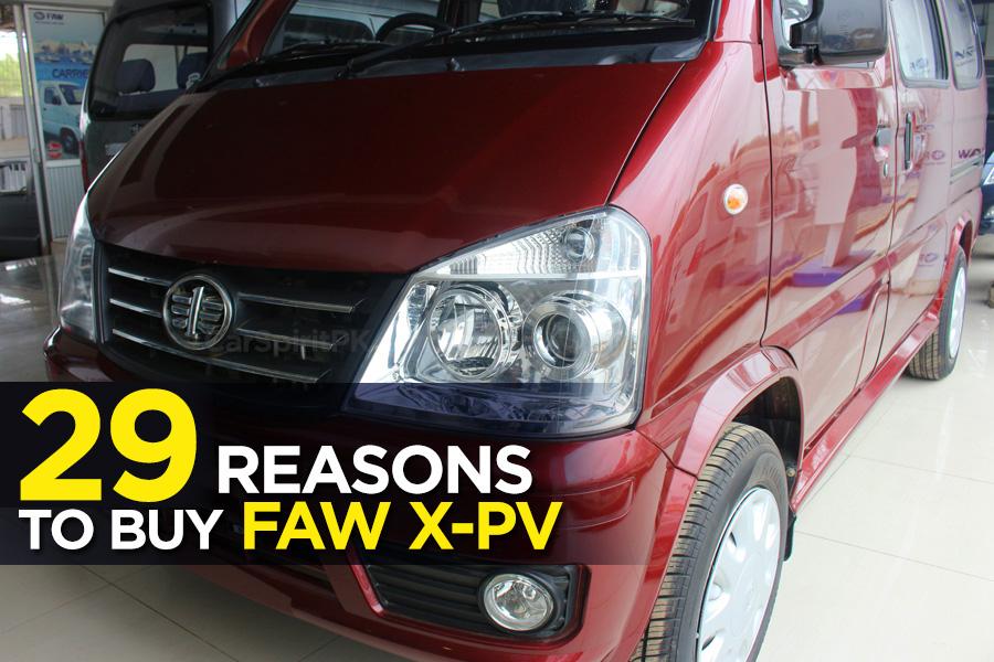 29 Reasons to Buy FAW X-PV 5