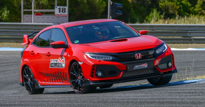 Honda Civic Type R Breaks FWD Record at Estoril 5