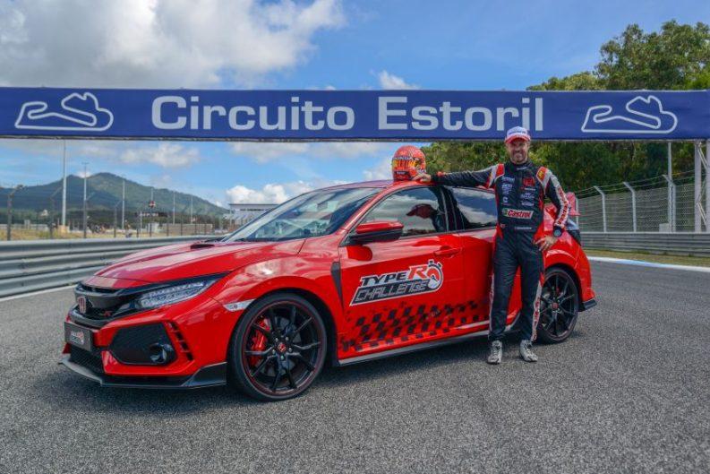 Honda Civic Type R Breaks FWD Record at Estoril 2
