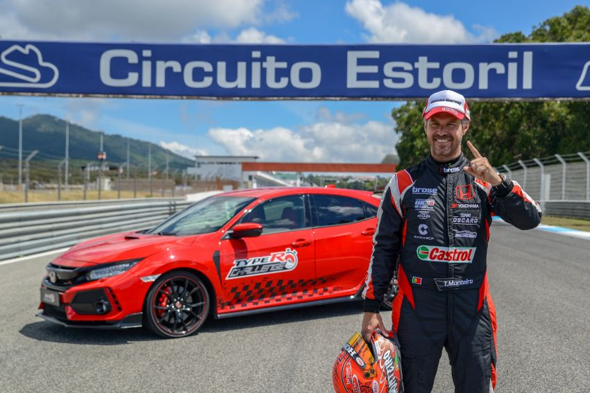 Honda Civic Type R Breaks FWD Record at Estoril 2